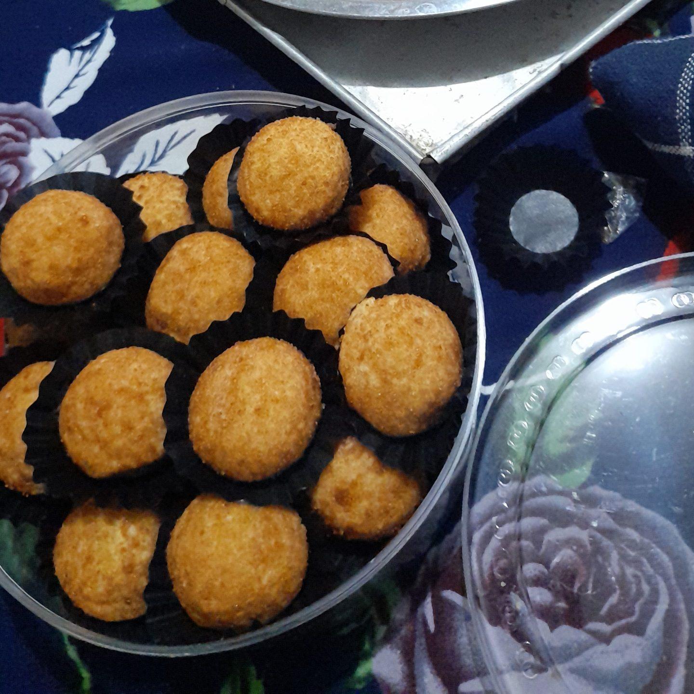 Palm sugar cheese cookies